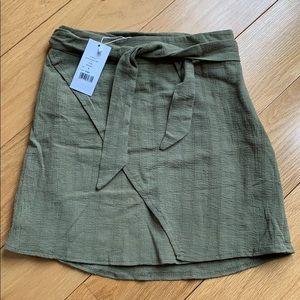 Showpo NWT Casual Friday's skirt, 8, khaki